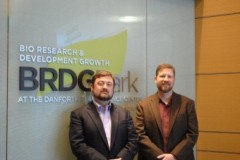 Left to Right- Matthew B. Crisp, President & CEO and Todd C. Mockler, Chief Technology Officer.